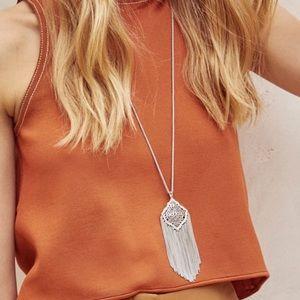 KENDRA SCOTT • Kingston Filigree Silver Necklace